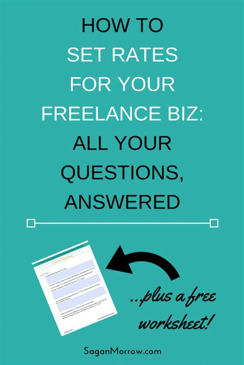how to price freelance services all your questions about setting rates answered
