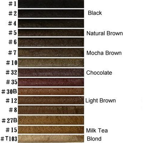 realrandomsam smaugnussen goddessofsax how to write brown characters and highlights for brown hair brown hair color chart chocolate brown of chocolate