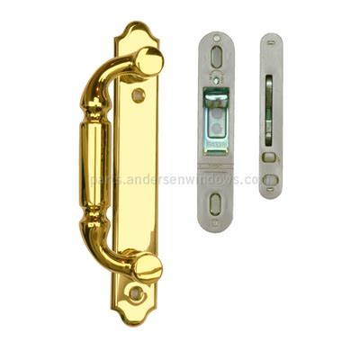 andersen 400 series remove handle door andersen 174 gliding patio door hardware exterior trim set