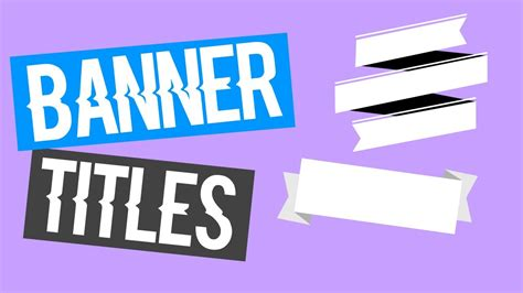 banner title templates hayley williams  bethany mota inspired youtube
