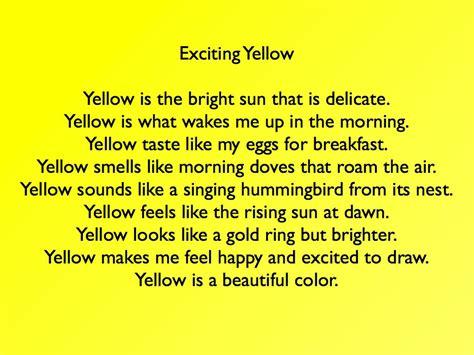 poems about colors color poems