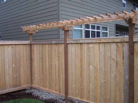 trellis for fencing arbor bentwood fence gate trellises fences