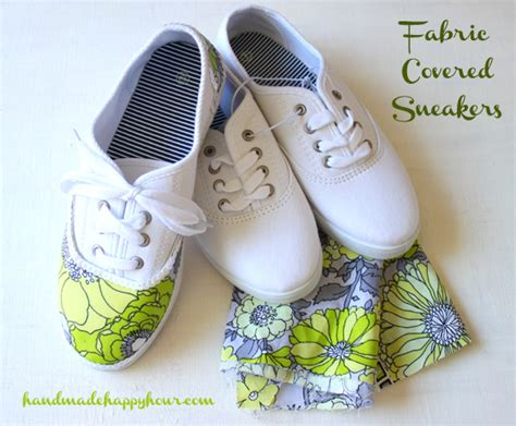 diy fabric shoes diy fabric covered sneakers with mod podge
