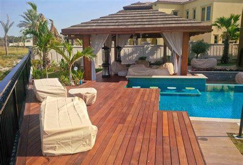 luxus terrasse entspannung und luxus stimmung auf der terrasse ipe in abu