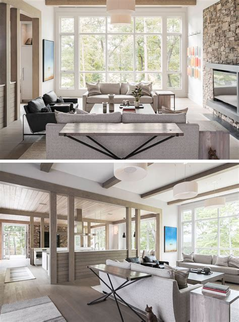 carolina living room furniture samsel architects designed a new home in carolina that s of contemporary rustic
