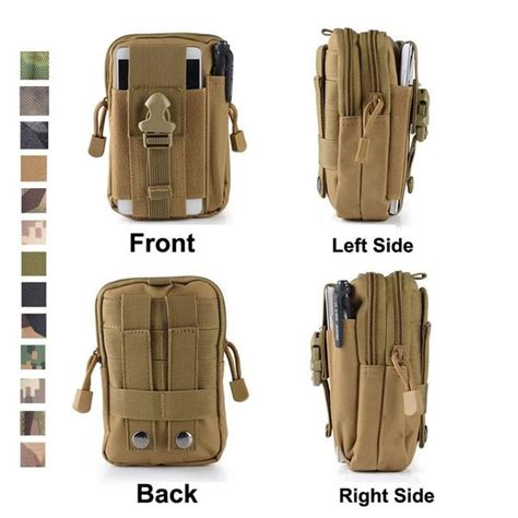 Compact Multi Purpose Pouch tactical pouch compact water resistant multi purpose molle edc utility gadg chickadee