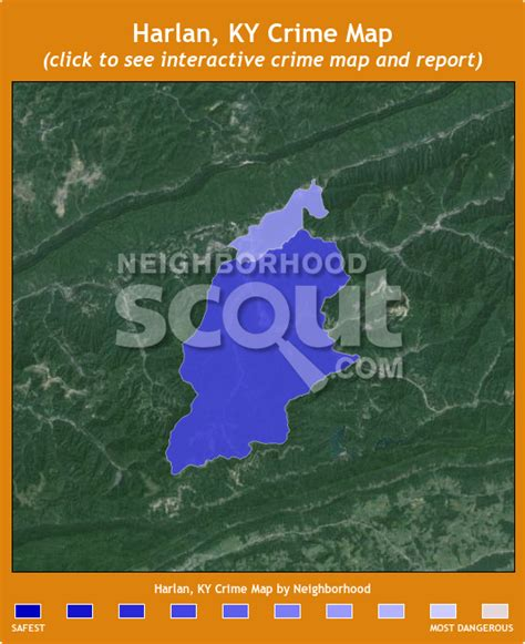 harlan ky map harlan ky crime rates and statistics neighborhoodscout
