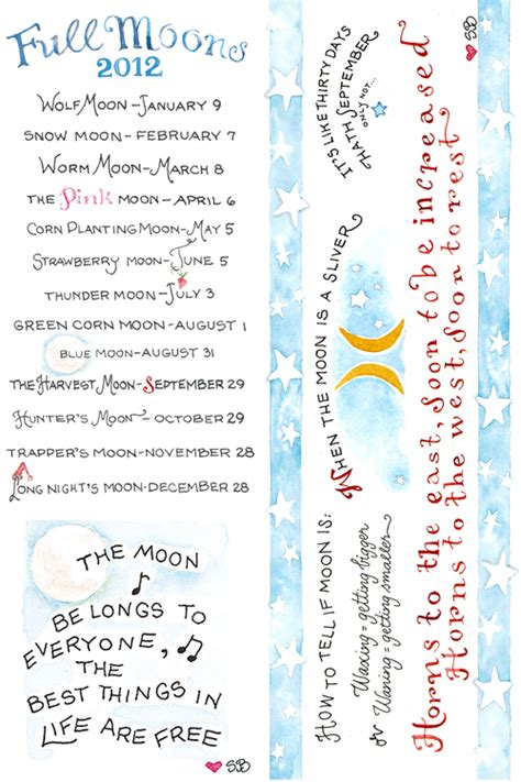 printable bookmarks with names moons bookmark susan branch blog