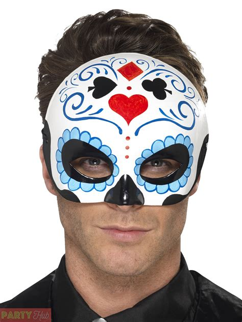 day of the dead sugar skull halloween mask day of the dead mask adults halloween sugar skull fancy
