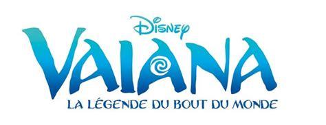 Un Logo Pour Vaiana La L 233 Gende Du Bout Du Monde