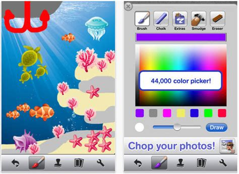 doodle buddy paint draw 5 free educational apple apps for software