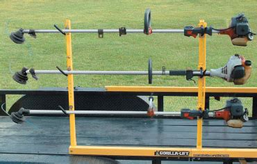 How To Make A Eater Rack by Gorilla Lift Trailer Tailgate Lift Assist Trimmer Rack
