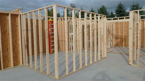 Framing An Interior Wall With A Door Garage Rebar Interior Wall Framing Radiant Heat Quadomated