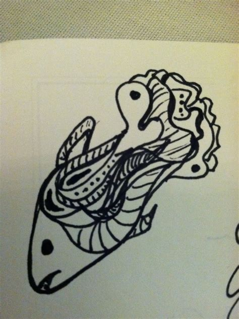 mini doodle sketch 114 best images about zentangle fish on