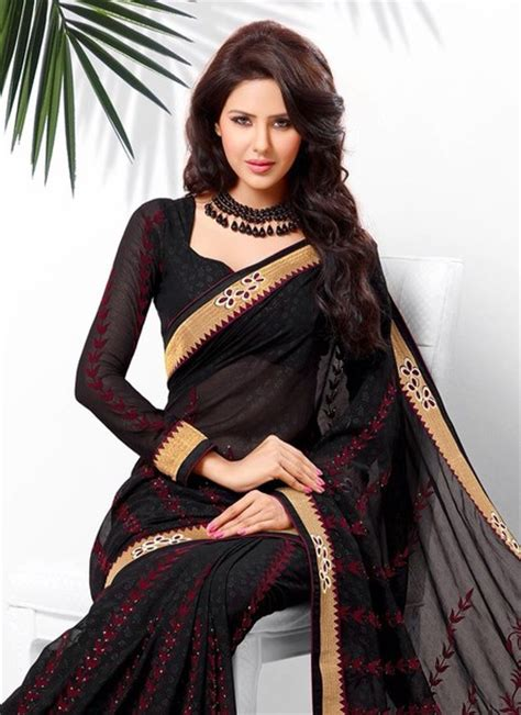 Sari Gold Series dress black burgundy gold sari saree maxi dress