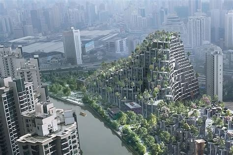 Floor Plans For Apartment Buildings by Heatherwick Studio Wants To Build A Tree Covered Mountain