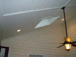 vinyl beadbord screen porch ceiling from curtis