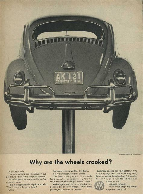 Think Small Volkswagen by Vw Beetle Think Small Motor Vw 자동차