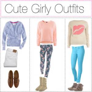 Cute girly outfits polyvore