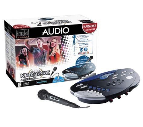 karaoke console hercules karaoke console