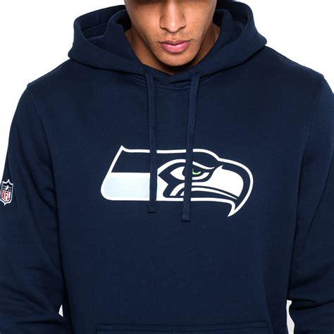 Sweater Hodie Logo Chelsea seattle seahawks pullover team logo blue hoodie new era
