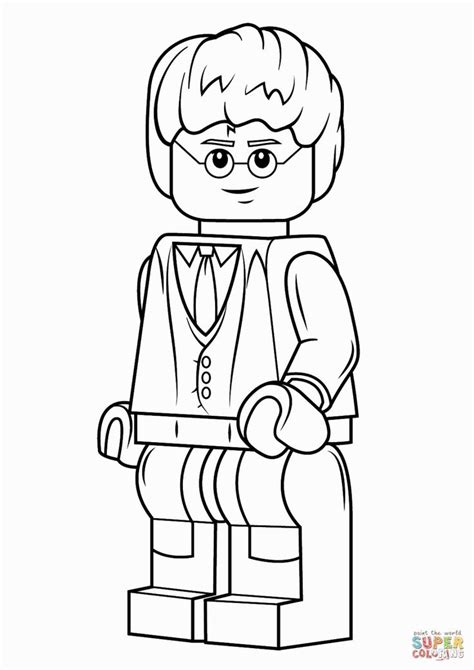coloring pages harry potter lego 25 best ideas about lego coloring pages on pinterest