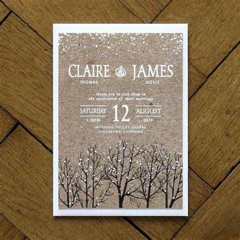 Winterliche Hochzeitseinladungen 25 Best Ideas About Winter Wedding Invitations On