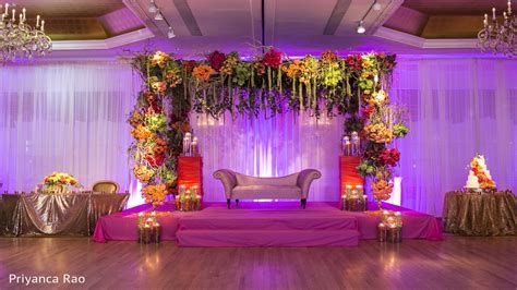 Simple stage decorations for wedding, wedding reception