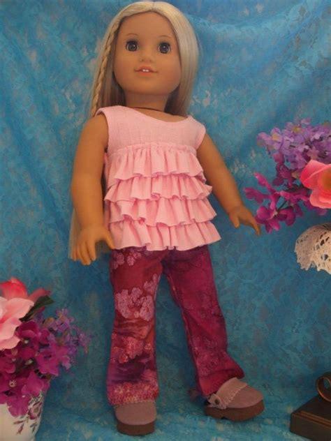 Bel Batik Set batik bell bottom american doll flared