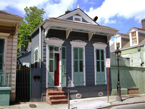 new orleans style house plans a shotgun house calls for decor with a light touch