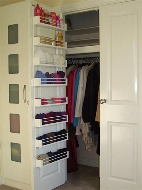Drawers For Inside Closet by Shelving This Shallow Shelving Mounts To The Inside Of A