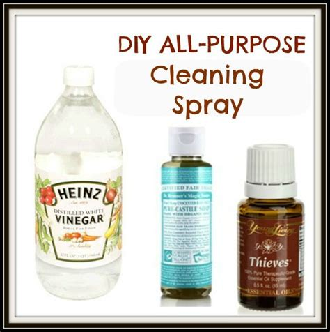 All Purpose Spray Diy All Purpose Cleaning Spray Thieves Essential