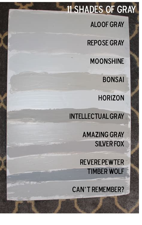 paint shades of grey best grey paint colors home staging accessories 2014