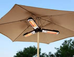 Umbrella Patio Heater Simply Solved Patio Umbrella Heater Marcy Mckenna Inventor Entrepreneur And Designer
