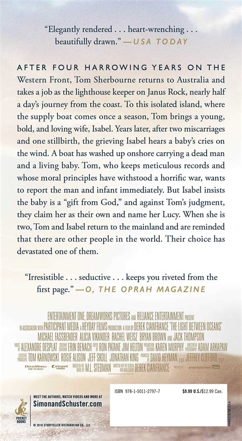 the light between oceans synopsis the light between oceans book by m l stedman official