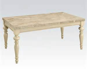 Antique White Kitchen Tables Antique White Dining Table By Acme Furniture Ac71705