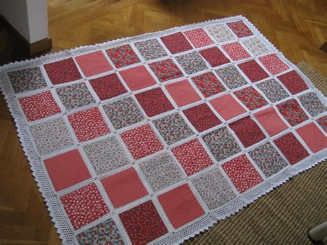 Crocheted Quilts by Crocheted Quilt Tutorial Pics