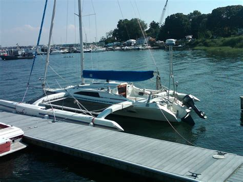 trimaran expedition 1993 corsair f 31 ac 231 sail boat for sale www