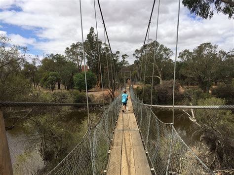 swinging bridge rv park york