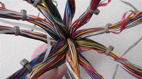 pair telephone cable model  corpus callosum