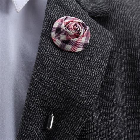 Lapel Pin Bros Jas Wedding Best Flower Leaf Dusty Pink Lapel 55 best images about fabric flowers on brooches felt flowers and fabric flower tutorial