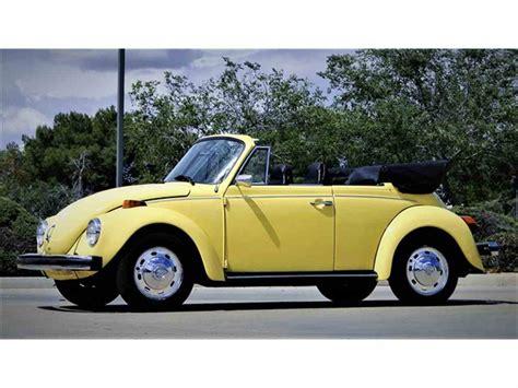 volkswagen super beetle convertible  sale classiccarscom cc