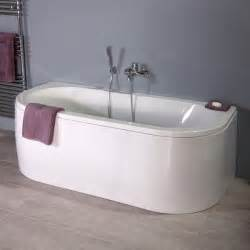 Double Ended Bath With Shower 1700 X 800 Betacast Bologna Luxury Double Ended Bath
