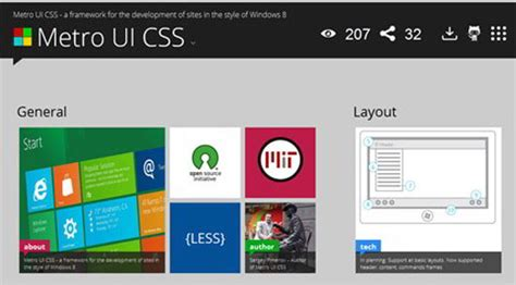 tutorial metro ui css 30个非常棒的css开发工具和应用 csdn博客
