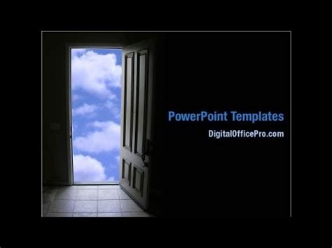 open office powerpoint templates open door to the world powerpoint template backgrounds