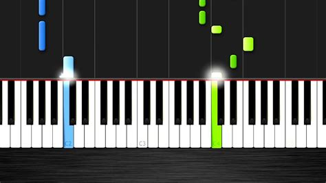 tutorial piano you and i apologize one republic easy piano tutorial by plutax