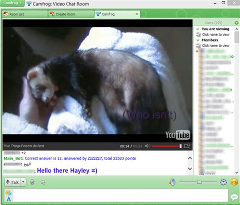 Youtube Video Di Room Camfrog Favorite 2013 Camfrog Chat Room For 18
