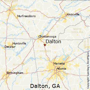 us map dalton best places to live in dalton