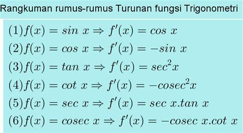rumus fungsi membuat jurnal umum turunan trigonometri menghitung com