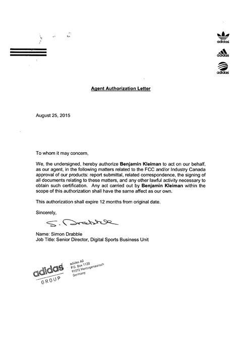 sle authorization letter authorization letter sle claiming birth certificate 28